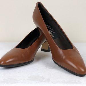 Vintage Amalfi Leather Shoes Italy 8.5 AAA